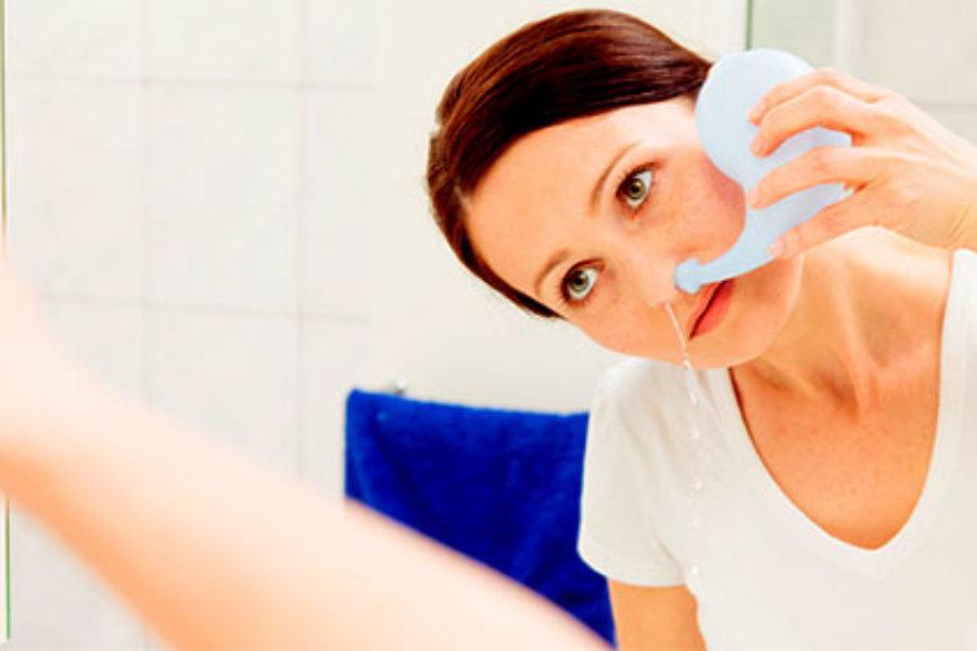 Як правильно промивати ніс